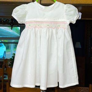 Remember Nguyen NB Smocked White Dress